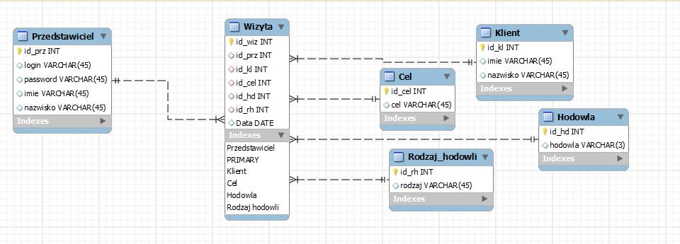 Wspaniały Baza danych pod system rejestracji wizyt:: 4programmers.net WS52