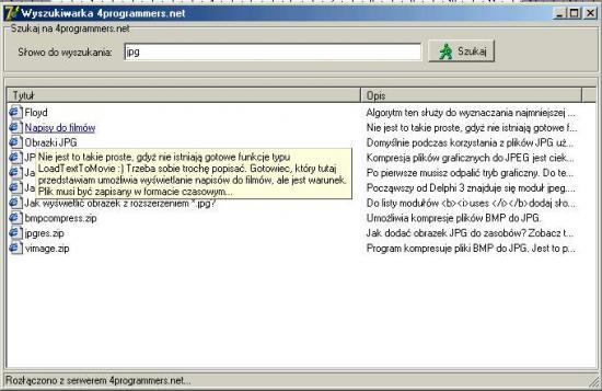 Rozdział 11  Aplikacje sieciowe:: 4programmers net